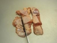 炙り鶏肉と豚バラのキムチ鍋06