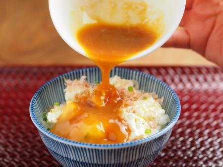 クリームチーズ卵かけご飯14