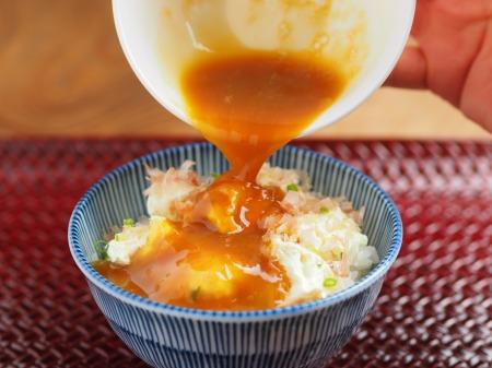 クリームチーズ卵かけご飯15