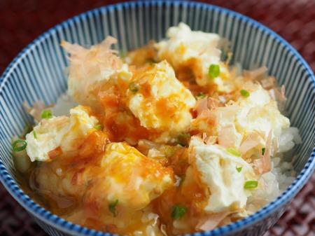 クリームチーズ卵かけご飯21