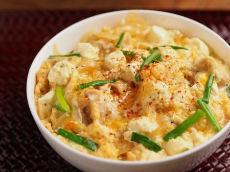 クリームチーズ親子丼10