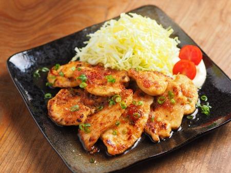 鶏むね肉の生姜焼き05