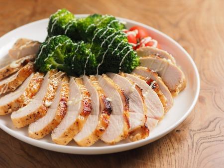 鶏むね肉のタバスコ焼き31