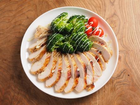 鶏むね肉のタバスコ焼き45