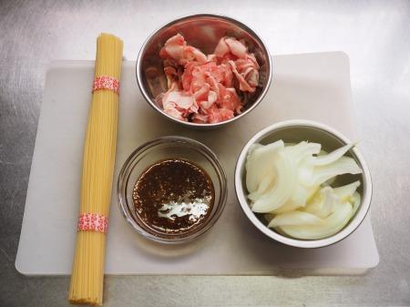 焼肉スパゲティ早茹でパスタ02