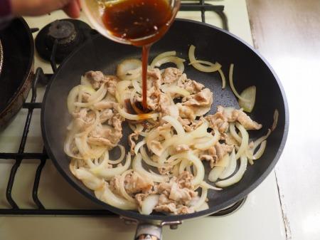 焼肉スパゲティ早茹でパスタ05