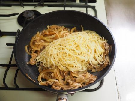 焼肉スパゲティ早茹でパスタ06