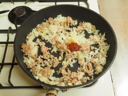 炒豆腐のチリソース炒め27