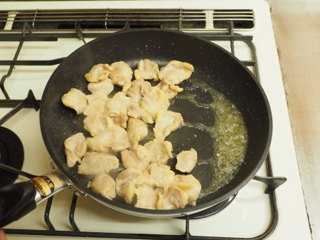 鶏ハラミと長ねぎの照り焼き36