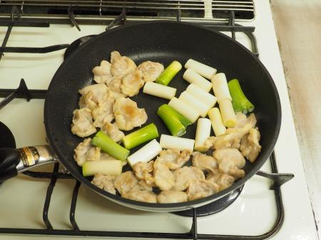 鶏ハラミと長ねぎの照り焼き39