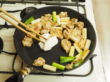 鶏ハラミと長ねぎの照り焼き41