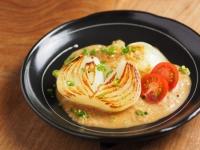 新玉ねぎステーキの玉ねぎソ01