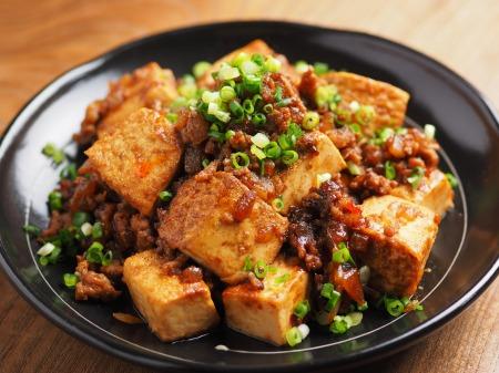 炒どうふで汁なし麻婆豆腐14