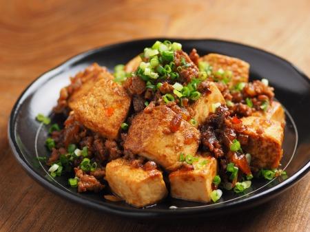 炒どうふで汁なし麻婆豆腐15