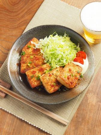 炒どうふのピリ辛生姜焼き30