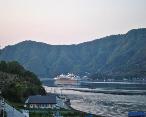 九島大橋から