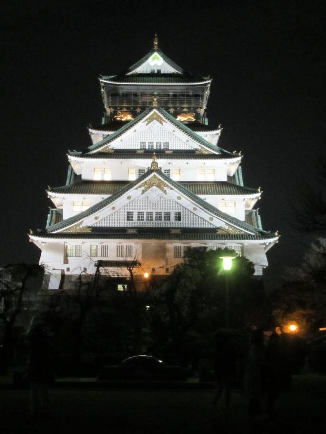 大阪城夜景2