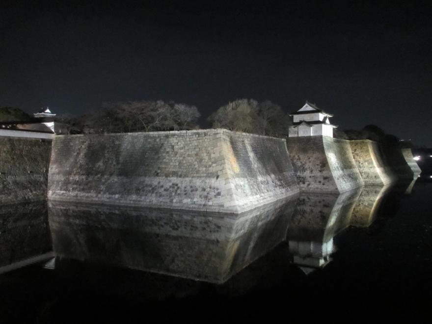 大阪城夜景1