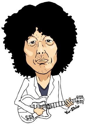 坂本慎太郎 caricature