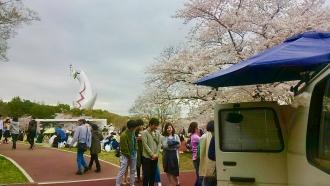 大阪万博「桜まつり」移動カフェ
