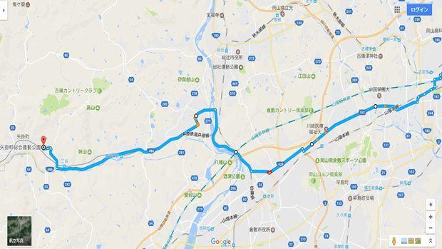 MAP(矢掛町総合運動公園)