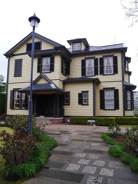 外交館の家