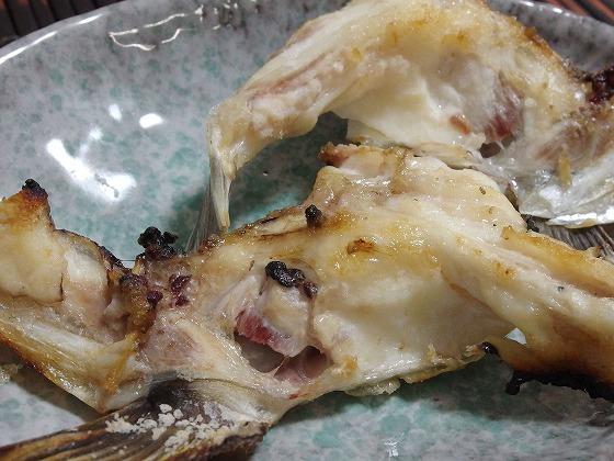 161230鯛あたまの塩焼き
