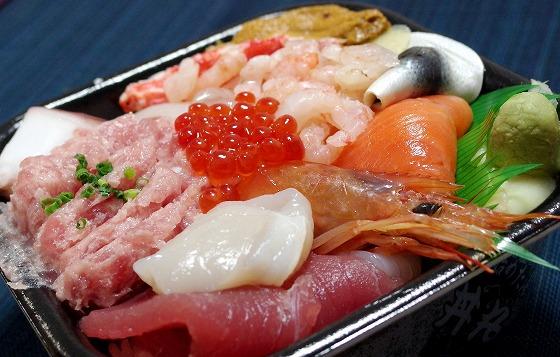 170120丼丸の海鮮丼