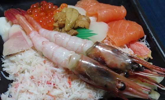 170222釧路四季彩海鮮丼