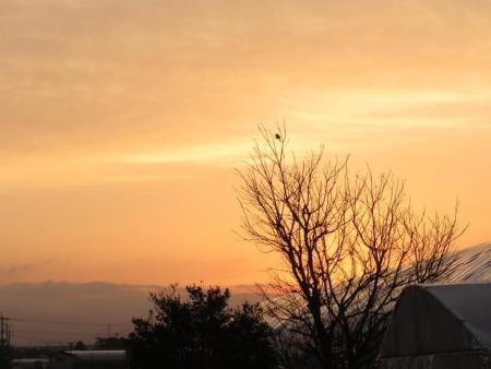 お月様日の出と 013
