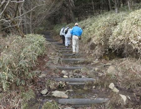 牛尾天山に登る 086