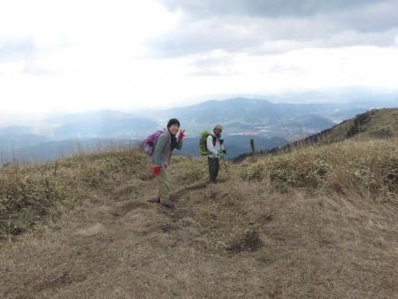 牛尾天山に登る 120