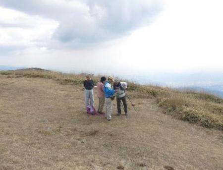 牛尾天山に登る 114