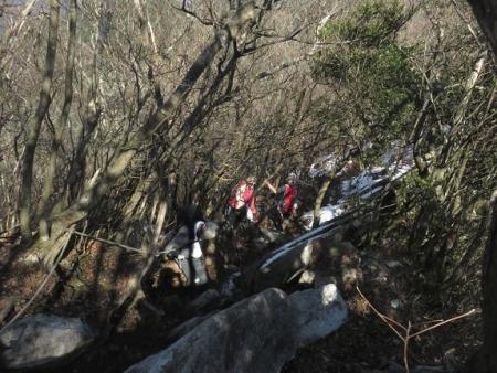 多良岳に登る 236