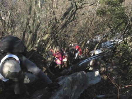 多良岳に登る 233