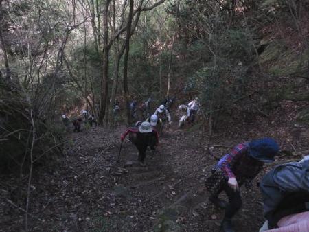 カラ迫山開き 120