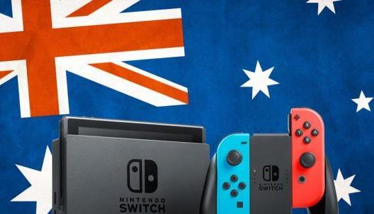 任天堂のスイッチは今や任天堂のオーストラリアとニュージーランドで最大の発売