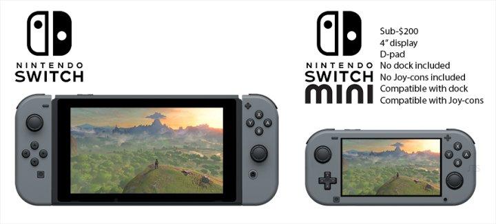 任天堂は来年早々にSwitch Miniを発売すると発表した