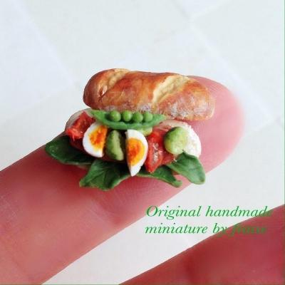 春野菜のサンド1