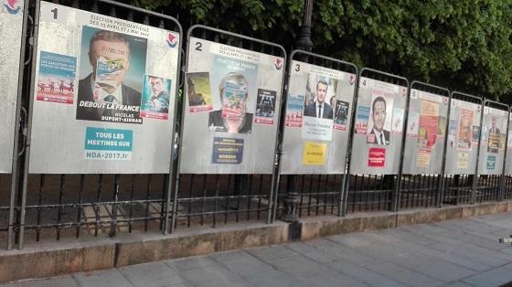 仏大統領選、一次投票