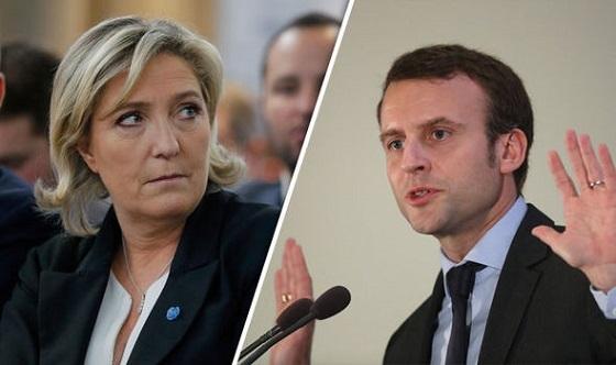 仏大統領選:ルペンVSマクロン