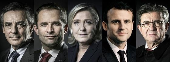 仏大統領選 立候補者