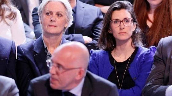 フランソワ・フィヨン夫人と娘