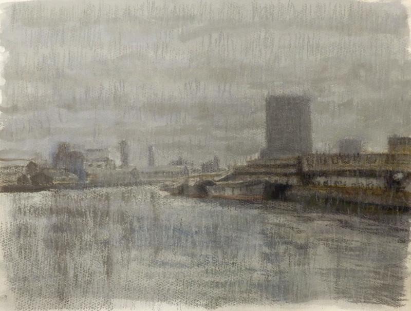 安治川風景 1993
