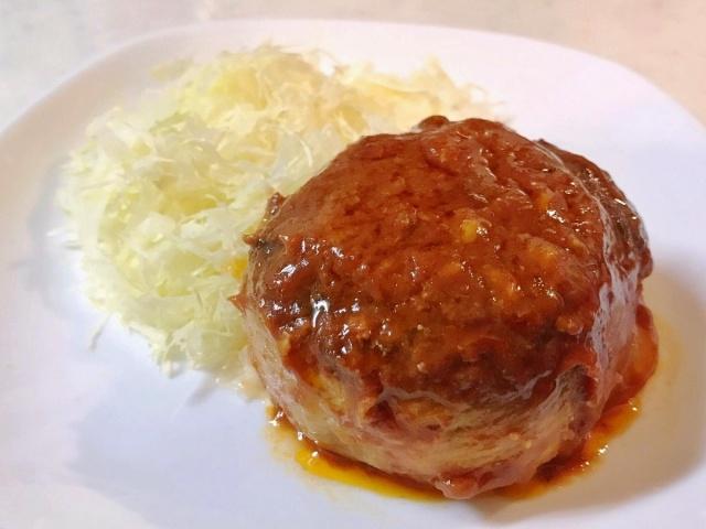 肉巻きハンバーグ (1)