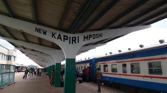 ザンビア ニューカピリムポシ駅(1)