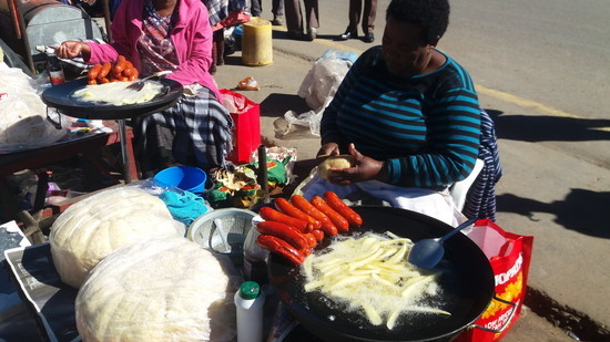 南アフリカ セモンコンへ移動(3)