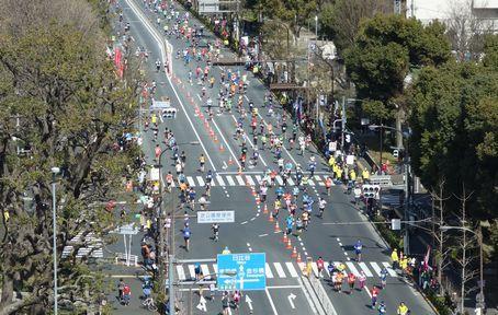 市民ランナーが続々