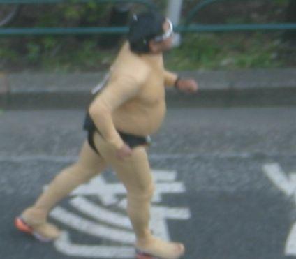 お相撲さんの恰好