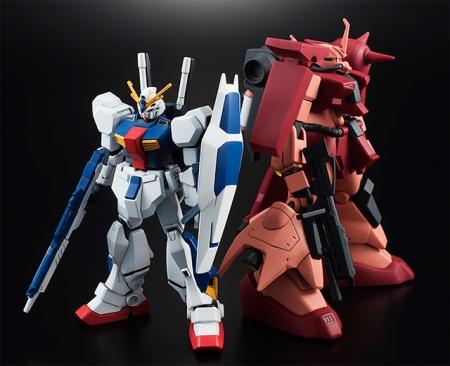 HGUC ガンダムAN-01 トリスタン(仮)、HGUC ザクⅢ改(Twilight AXIS Ver.)